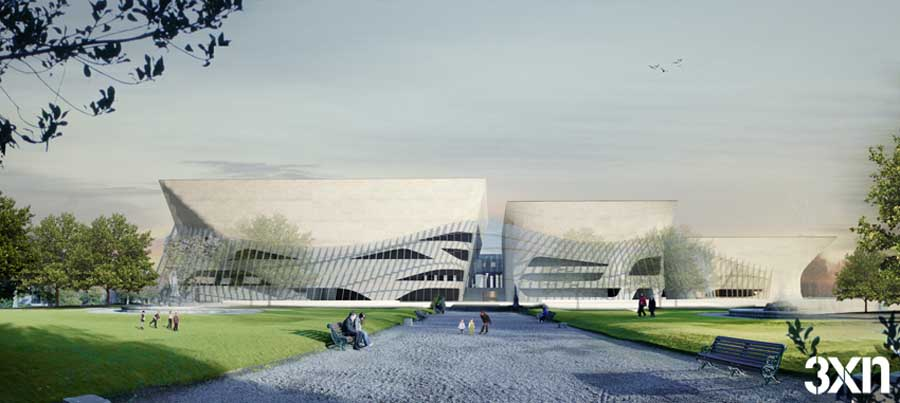 National Concert Hall Dublin Irish Building by 3XN