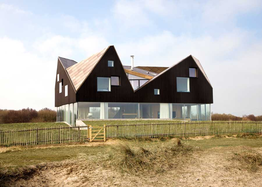 The Dune House Thorpeness Home by JVA  earchitect
