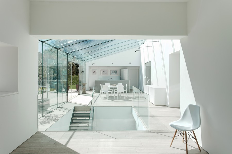 Glass House Winchester Residence  earchitect