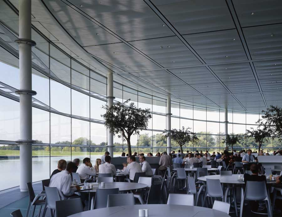 McLaren Technology Centre Woking Surrey  earchitect