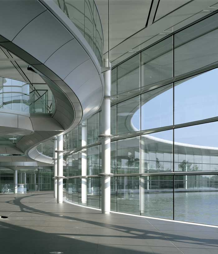 McLaren Technology Centre Woking Surrey  earchitect