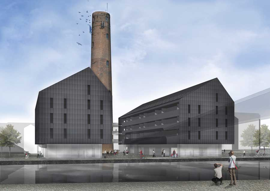 Chester Shot Tower Neptune Developments  earchitect
