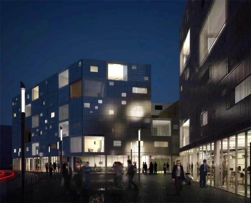 Bgles Housing  Gironde Building  earchitect