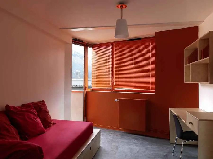 La Maison des Etudiants Grenoble France Housing Grenoble  earchitect