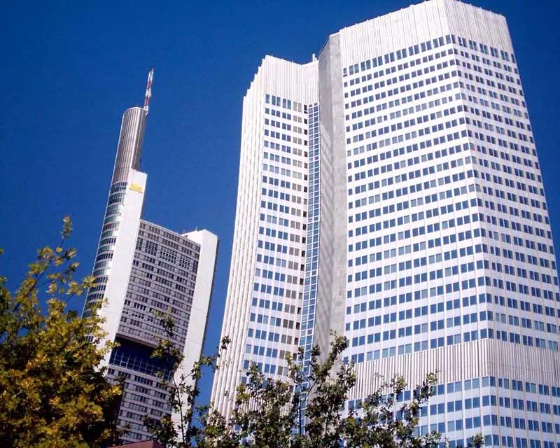 Frankfurt Skyscrapers  Tower Buildings Hesse  earchitect