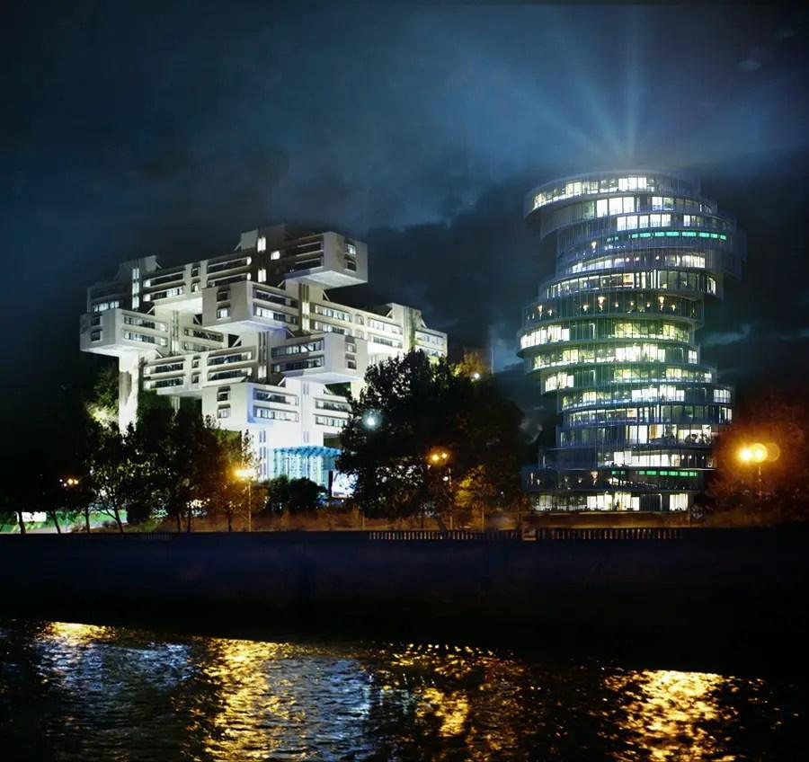 Tbilisi Business Centre Georgia Building E Architect