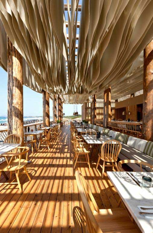 Barbouni Beach Restaurant Navarino Dunes Hotel E Architect