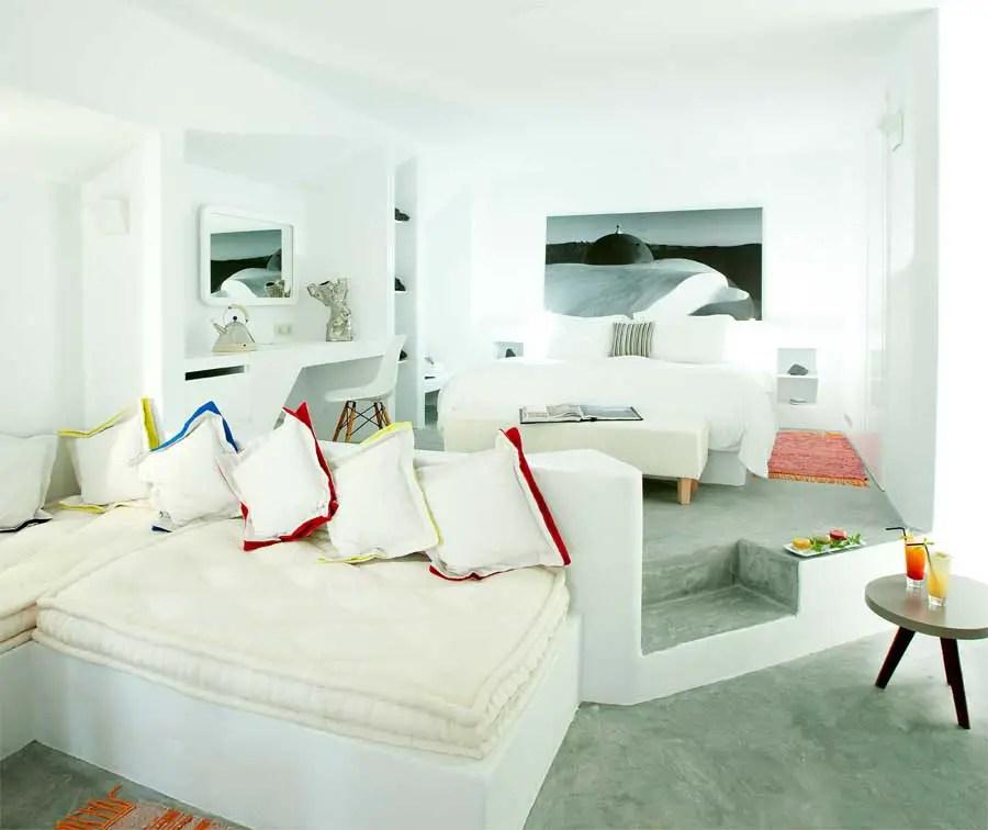 kitchen islands uk small round table set grace santorini hotel, greece - e-architect