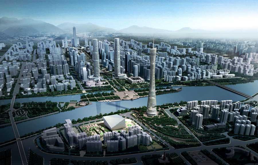 Guangzhou Velodrome Extreme Sport Center  earchitect