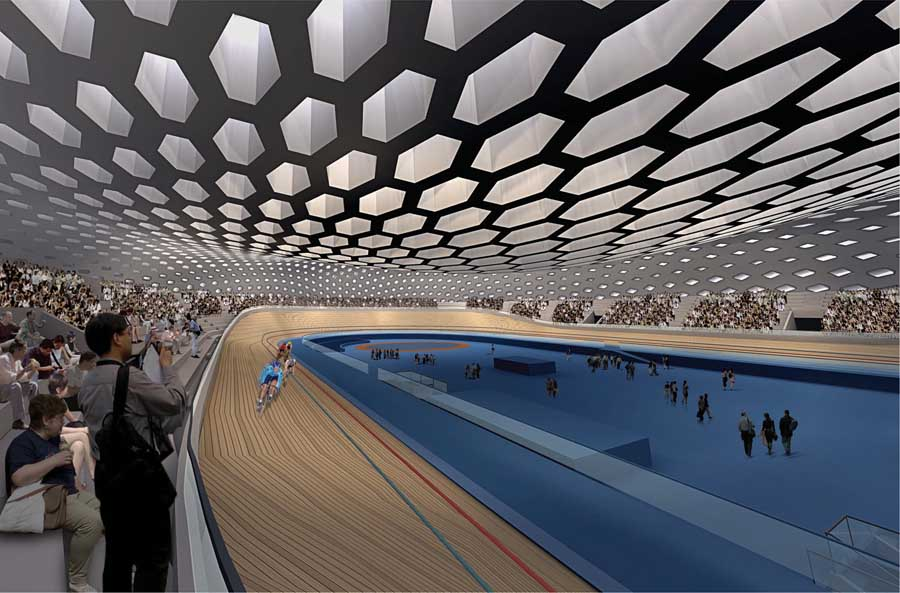 Guangzhou Velodrome Extreme Sport Center  earchitect