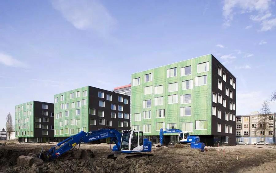 Student Housing Delft Dutch Building Mecanoo Architect