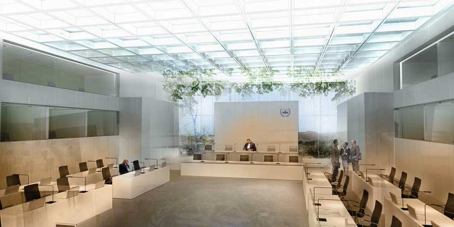 International Criminal Court ICC Building Holland  e