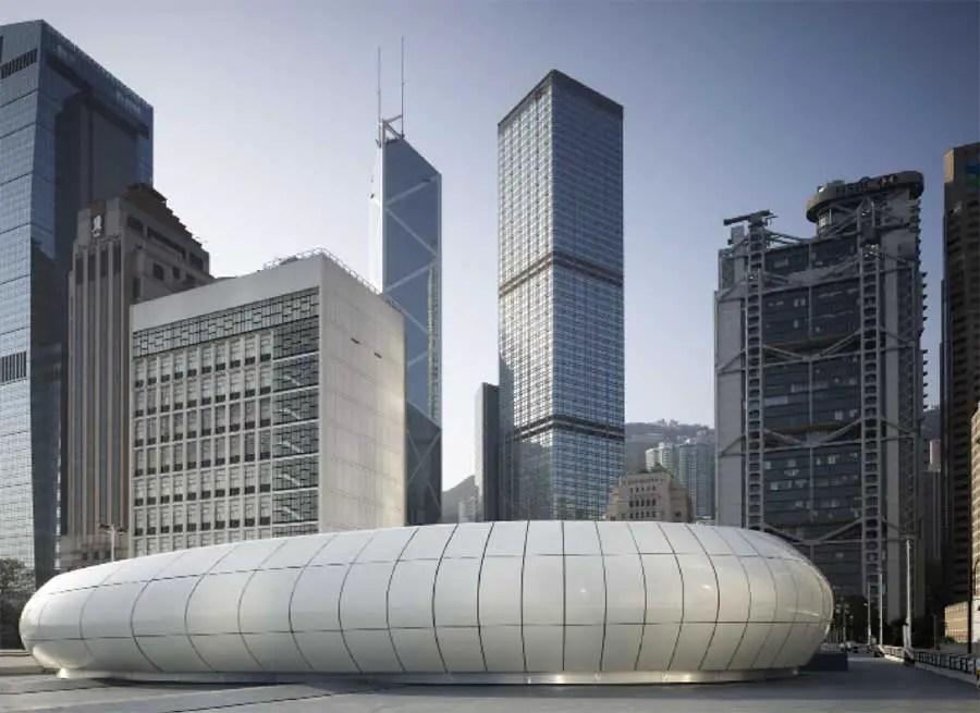 Mobile Art Chanel Pavilion  Zaha Hadid Hong Kong  e