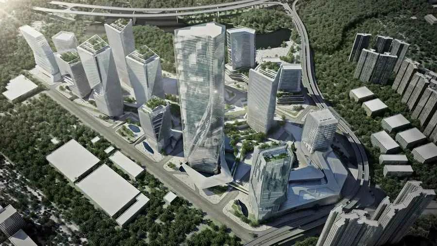 Yabao HiTech Enterprises Headquarter Park Futian