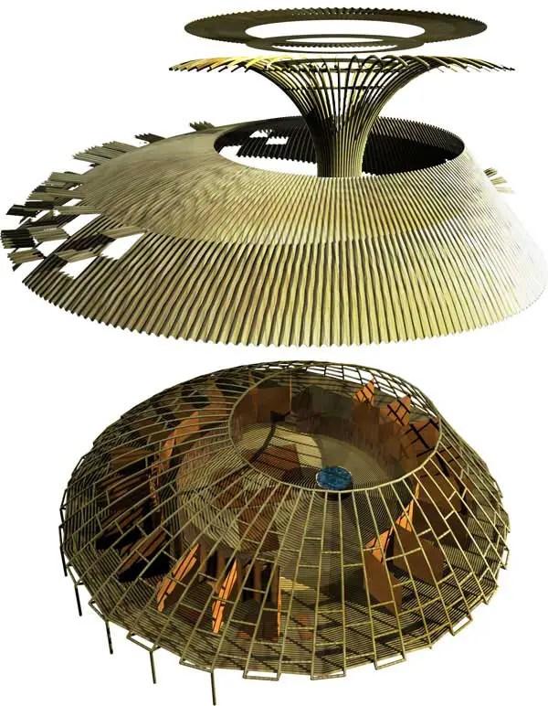 flooring ideas for living room india scarf valances bamboo shelter pavilion, indian ocean rim building - e ...