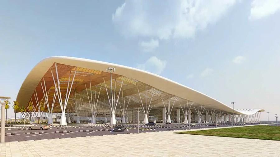 Bangalore Airport India  earchitect