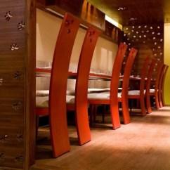 Used Restaurant Chairs Doll Stroller High Chair Set Sequel New Delhi Restaurant, India: - E-architect