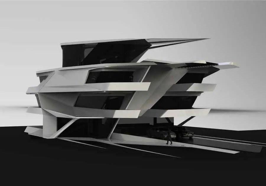 Kelardasht Villa New Iranian House Kelardasht Residence  earchitect