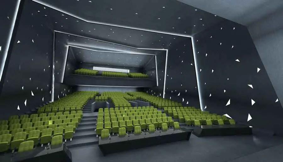 University of Semnan Auditorium  Library Iran  earchitect