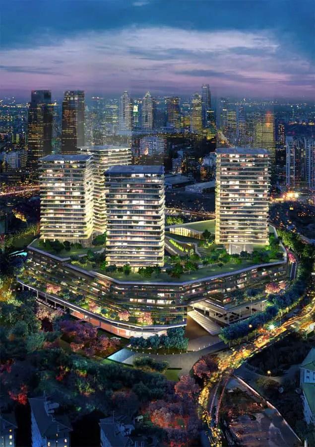 Zorlu Center Istanbul Design Competition Turkey  earchitect