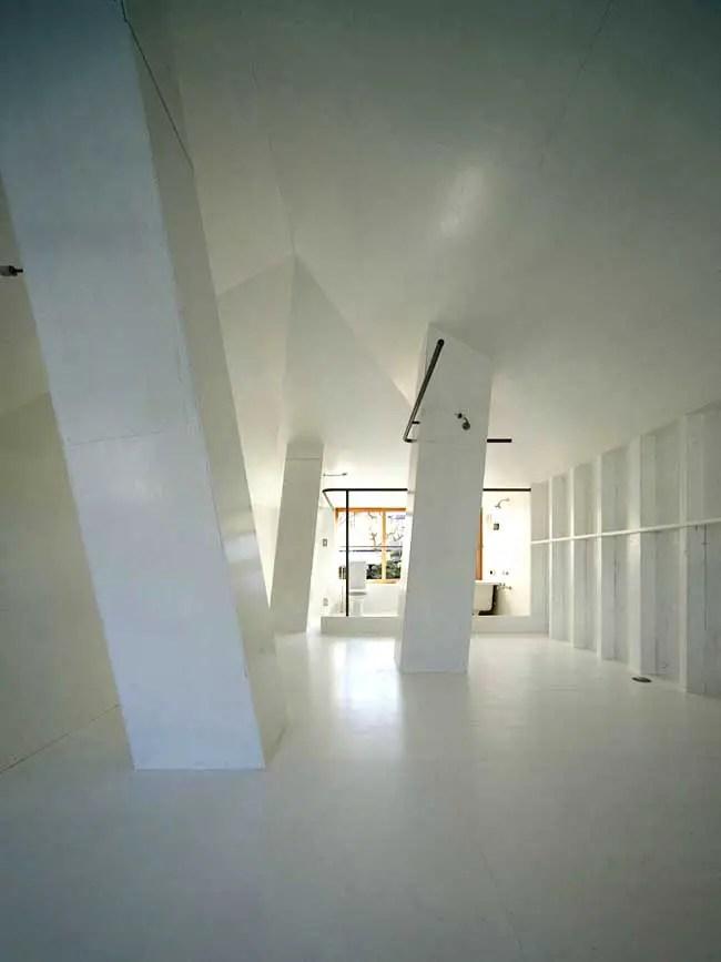 Light well House Kyoto Home Japan Keiichi Hayashi Kyoto House  earchitect