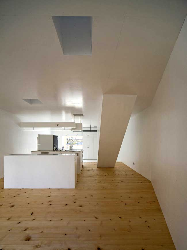 Light well House Kyoto Home Japan Keiichi Hayashi