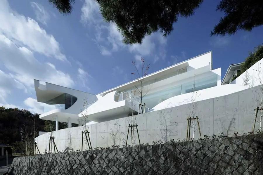Mountains  Opening House Japan Images Architect  e