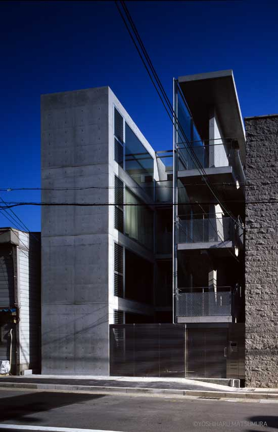 terrace g Kobe Apartment Building Architect  earchitect
