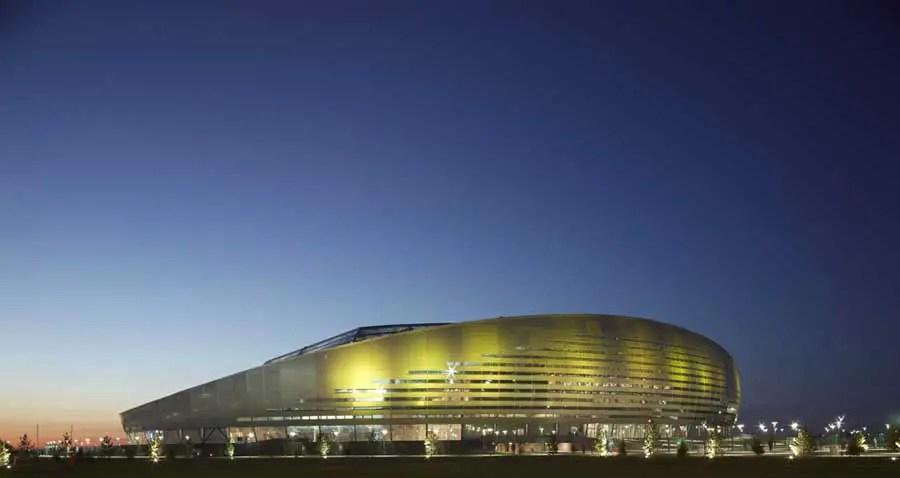 Astana Arena Kazakhstan Stadium Building  earchitect