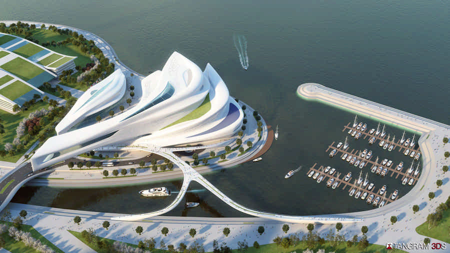Busan Opera House Contest BOH Korea E Architect
