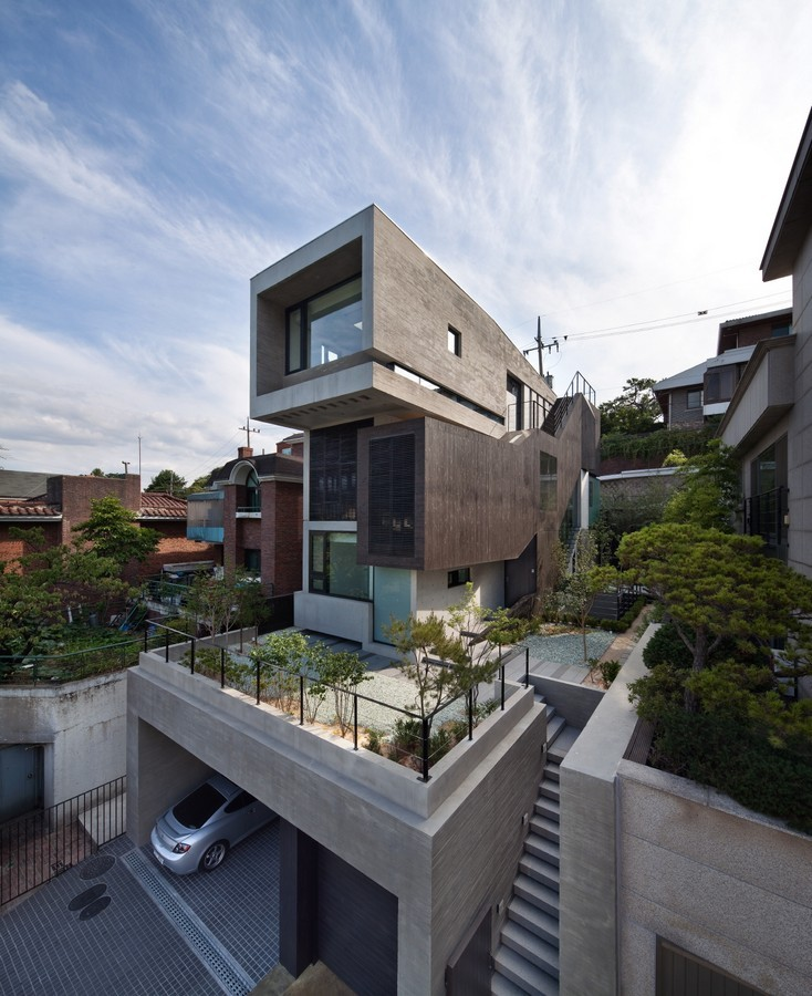 H House  South Korean Residence  earchitect
