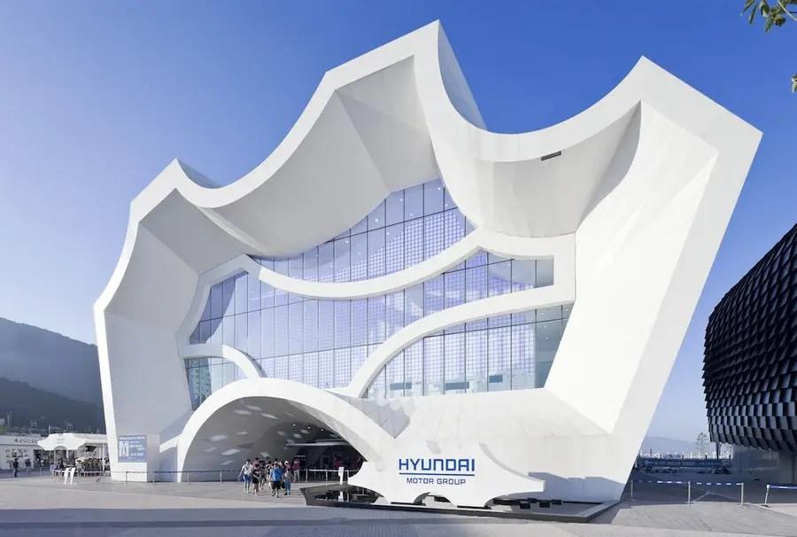 HyunDai Pavilion Yeosu Expo  Korea  earchitect