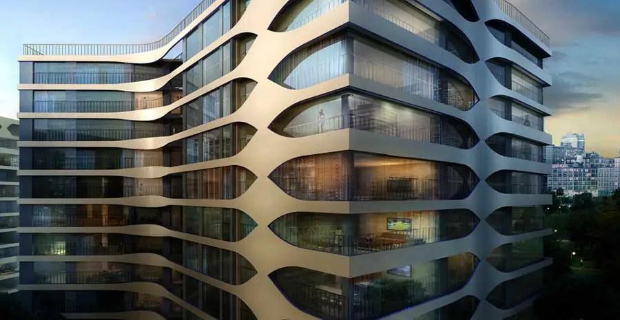 IPark City UNStudio Korea Suwon Building  earchitect