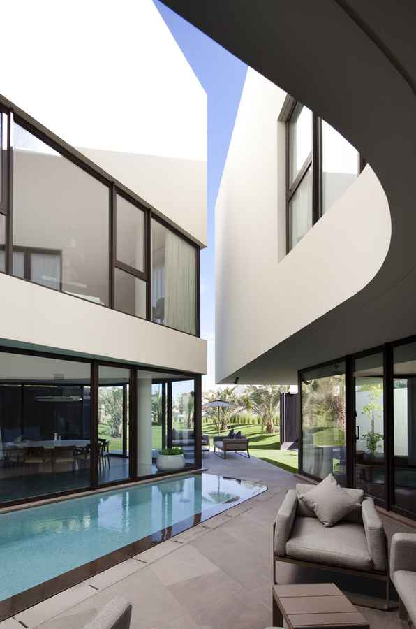 Mop House Kuwaiti Residential Building House in Kuwait