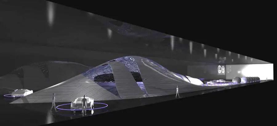 TOYOTA Exhibition Pavilion Kuwait Building Architect  e