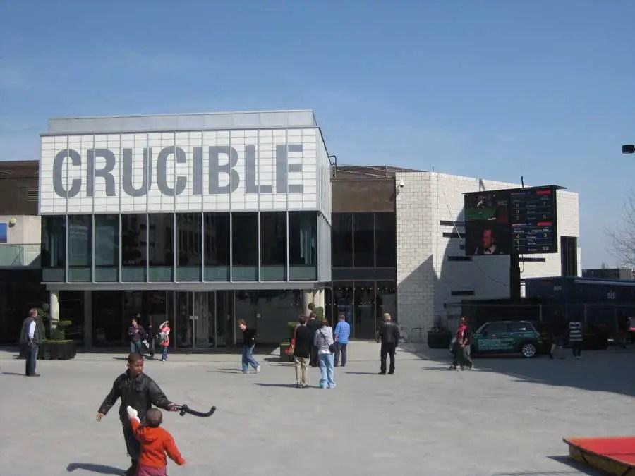 Crucible Theatre Sheffield Snooker Venue Crucible Sheffield E Architect