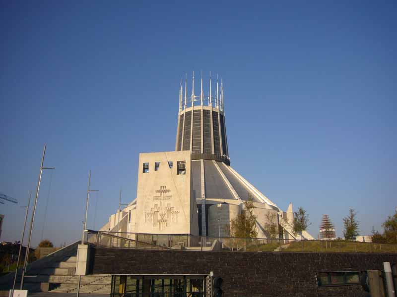 Liverpool Catholic Cathedral  Metropolitan Cathedral of