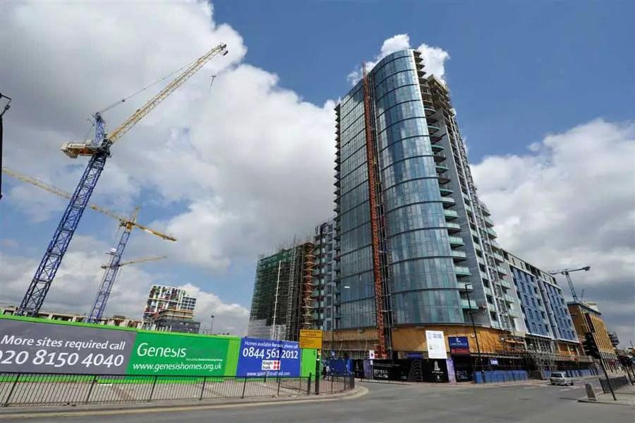 Stratford Eye Tower East London Apartments Angel Lane