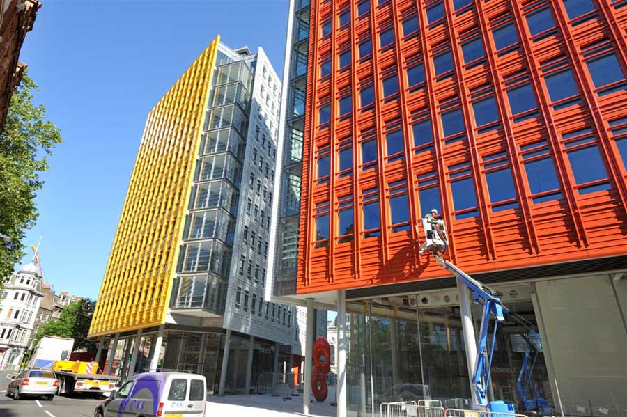 Central St Giles London  Renzo Piano  earchitect