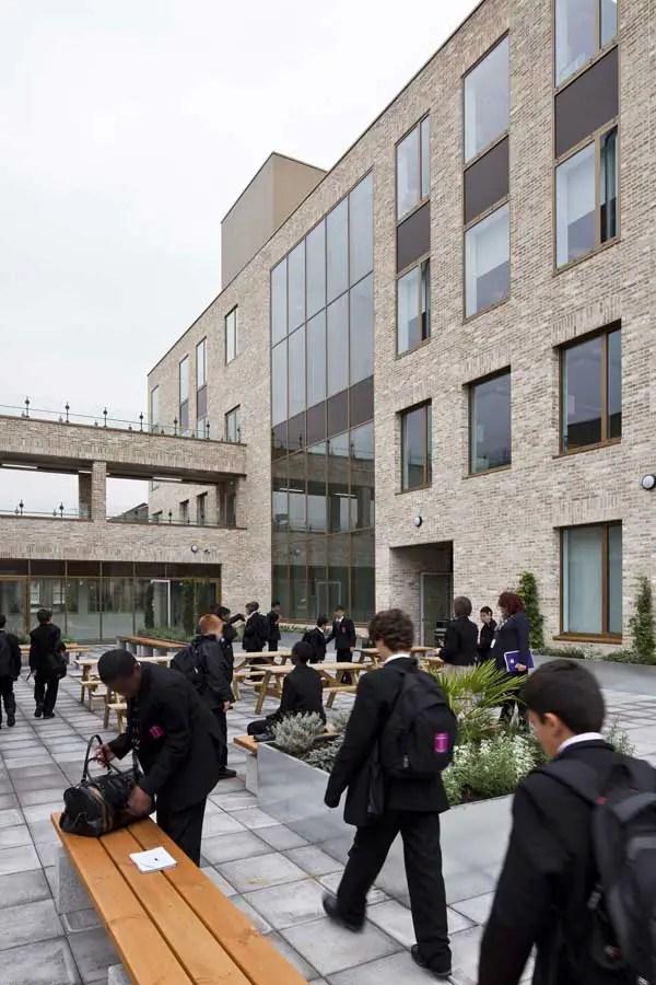 Chelsea Academy Building London  earchitect