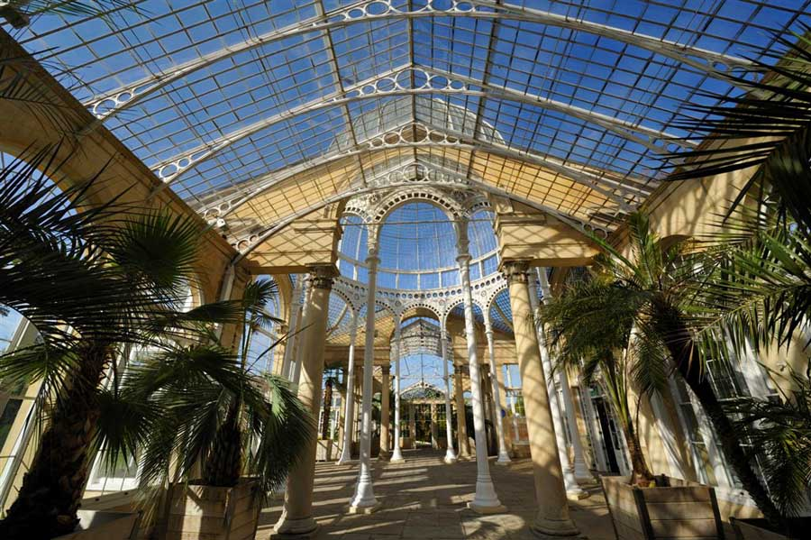 Great Conservatory Syon Park House  earchitect
