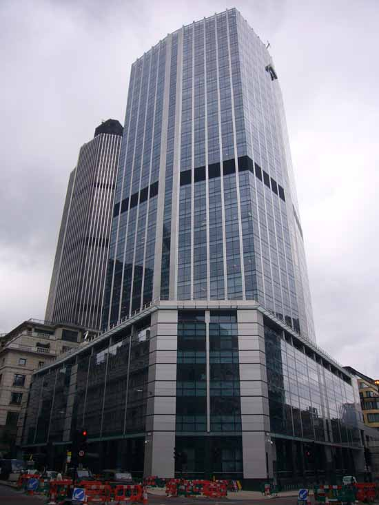 99 Bishopsgate London  City of London Offices  earchitect