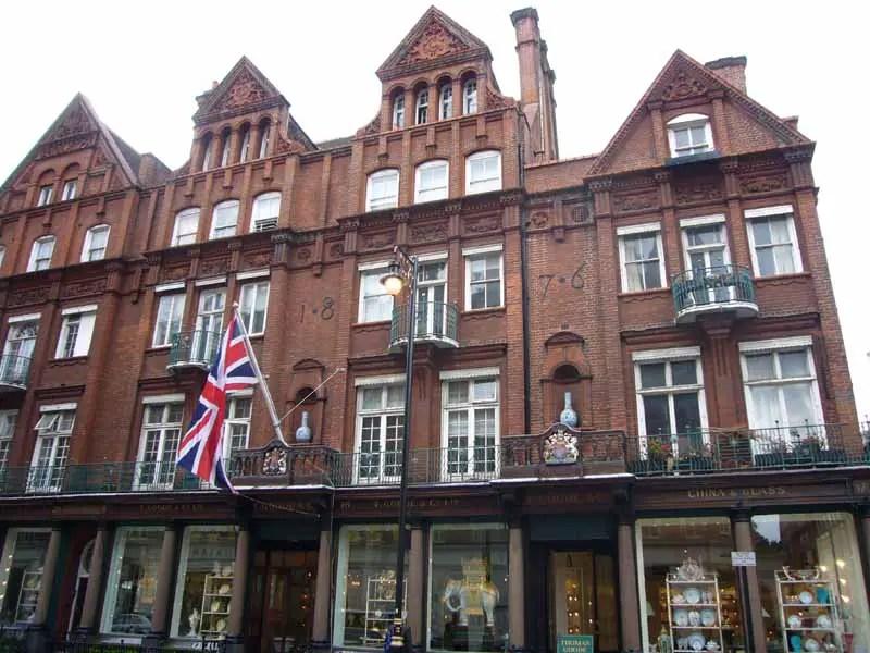 Mayfair Buildings West London Architecture  earchitect