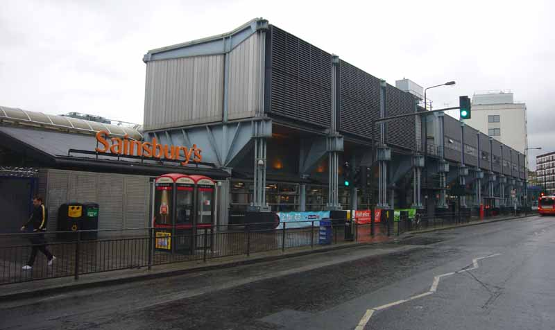 Camden Sainsburys London Store  earchitect