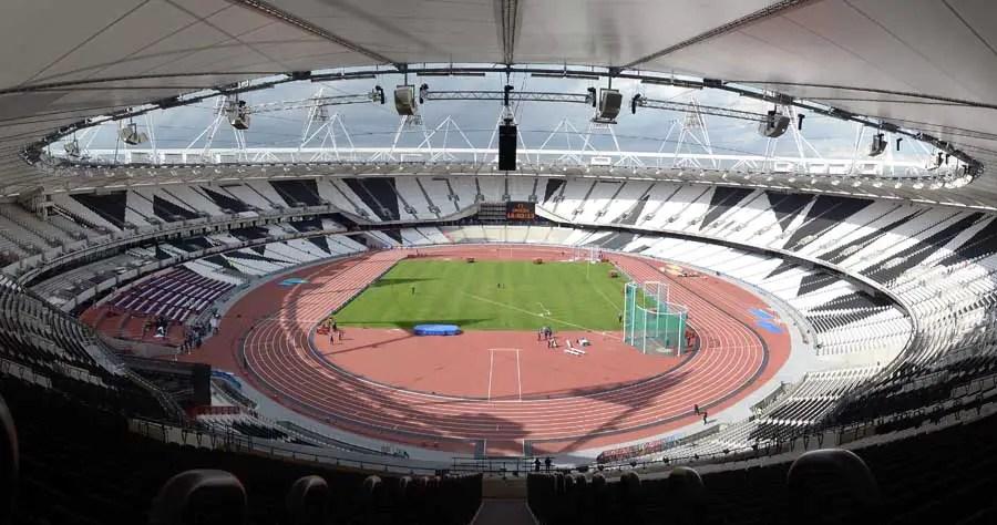 London Olympic Stadium Building UK  earchitect