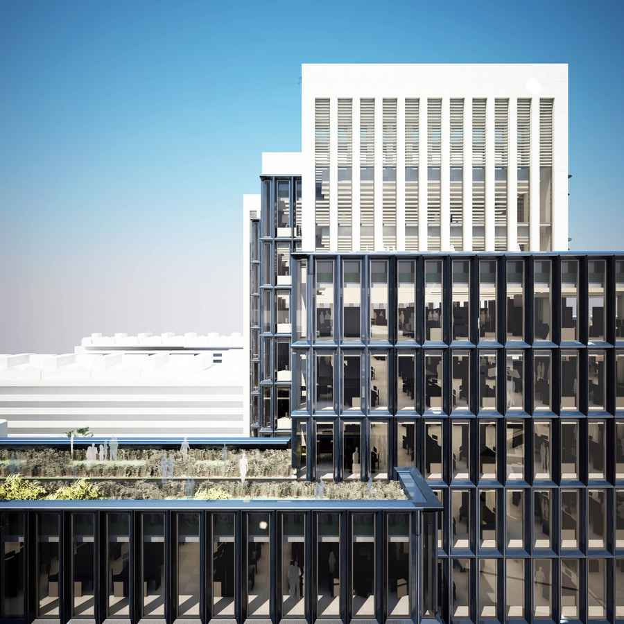 London Wall Place Office Development  earchitect