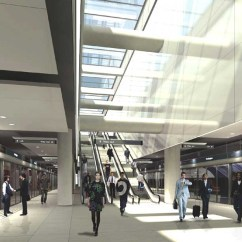 How To Design Architecture Diagram Subwoofer Wire Crossrail Station Buildings - London Underground Stations E-architect