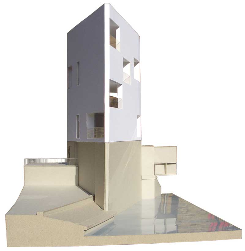 simple house diagram ford explorer radio wiring plinth house, limehouse home, east london property - e-architect