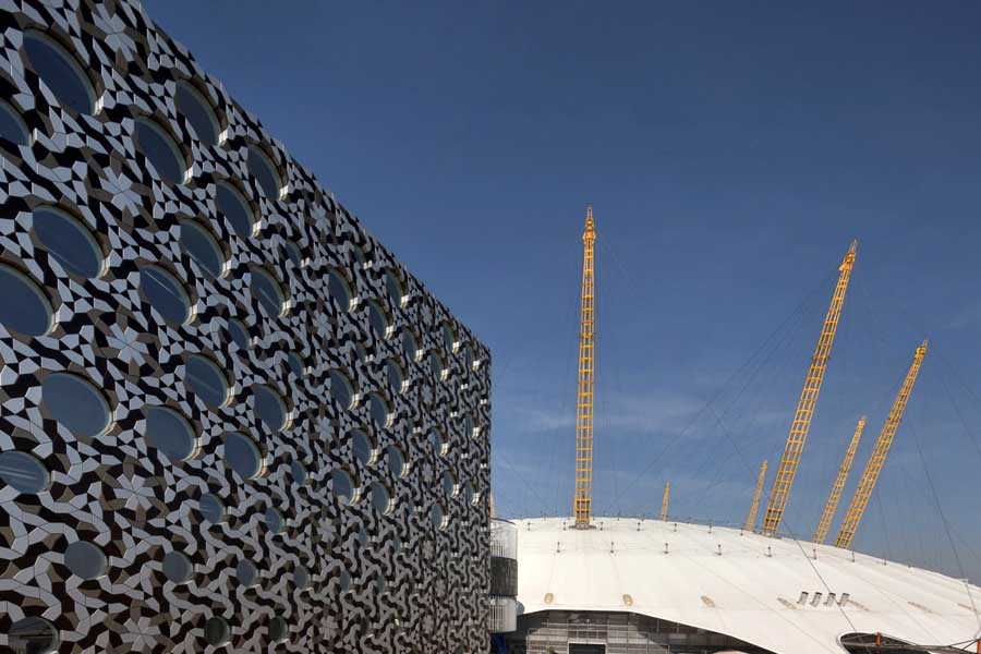 Ravensbourne College London Building Foreign Office Architects E Architect
