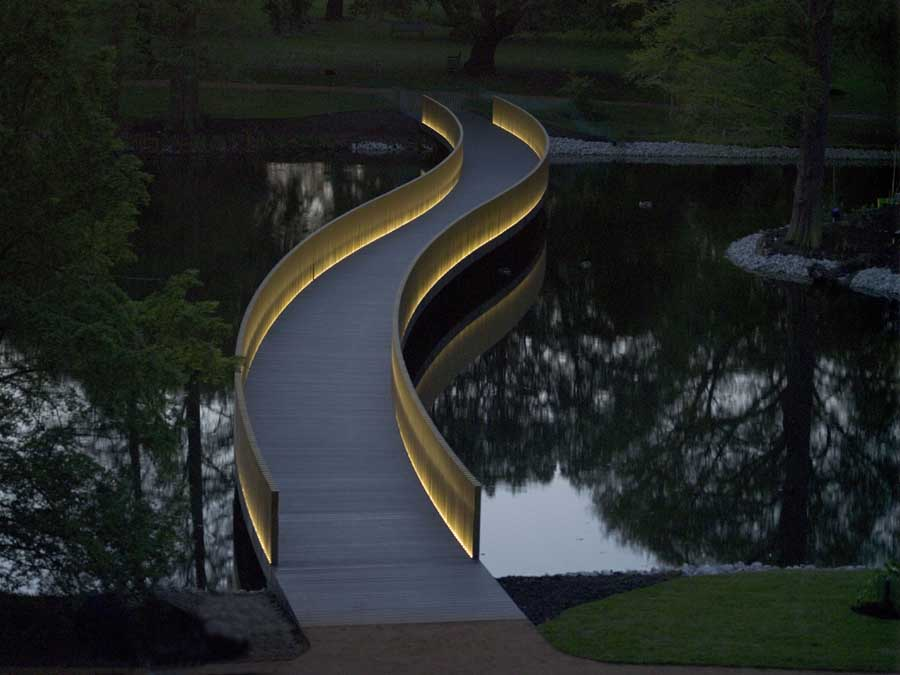 Sackler Crossing Kew Gardens London  earchitect